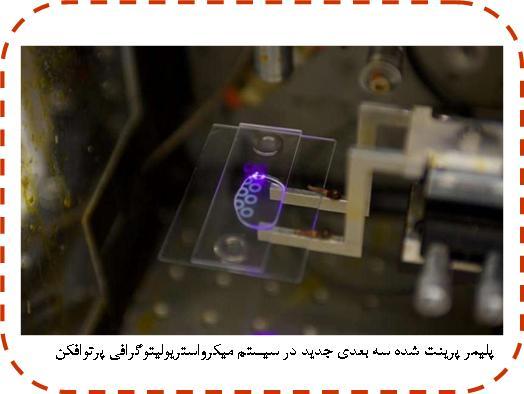 پلیمر پرینت شده سه بعدی جدید